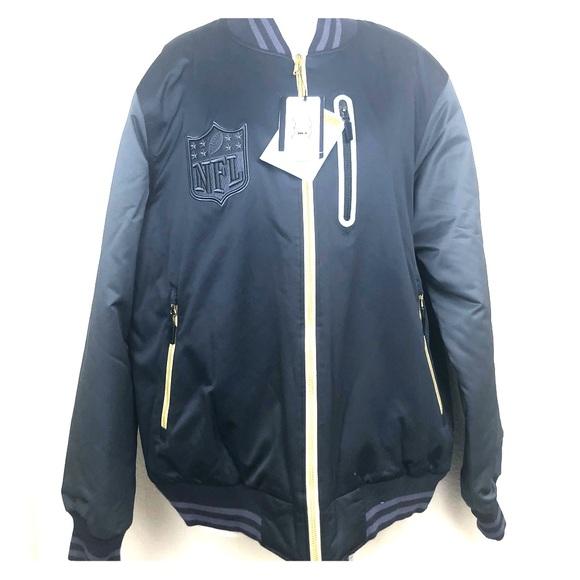 the latest cdd72 1e154 Men's Nike NFL BB51 Rare bomber jacket large NWT
